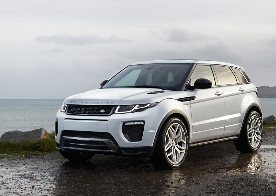 The 2016 Range Rover Evoque is the Most Efficient Land Rover Ever Built