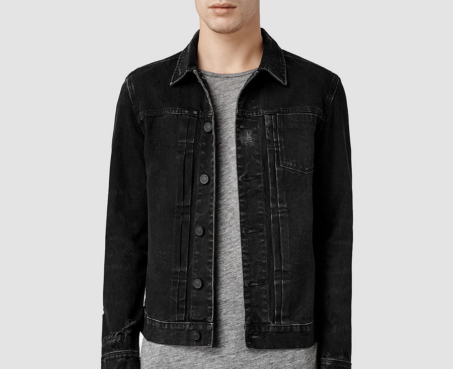 Get Free Shipping on the All Saints Hisako Denim Jacket