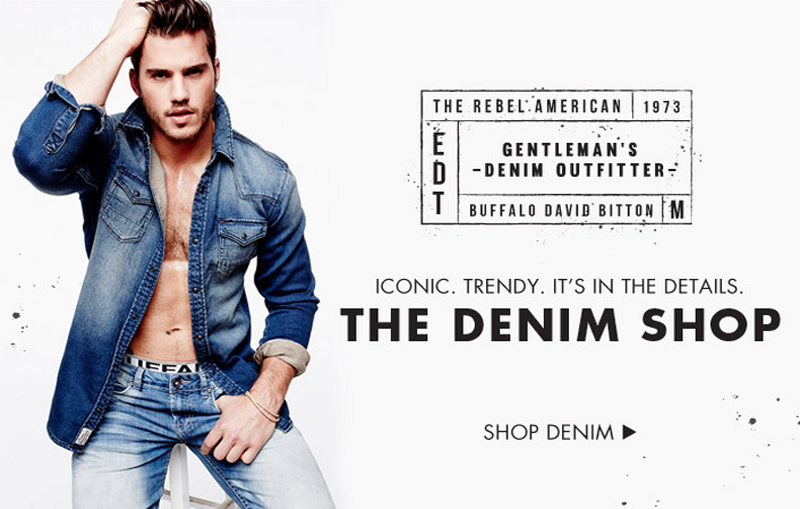 Save 20% off Denim at Buffalo Jeans and Get Free Shipping