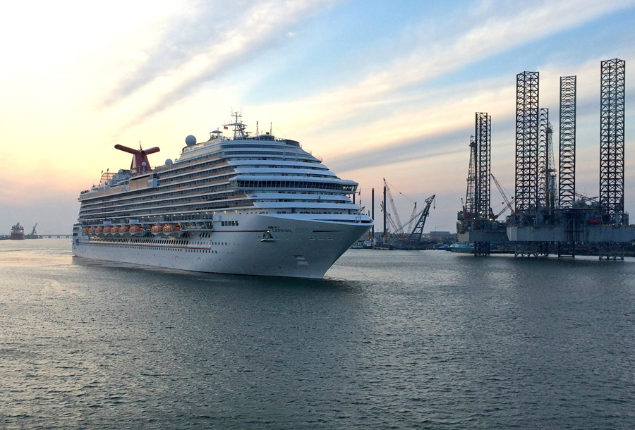 Newly Renovated Carnival Freedom Arrives In Galveston, TX to Honor Military Families