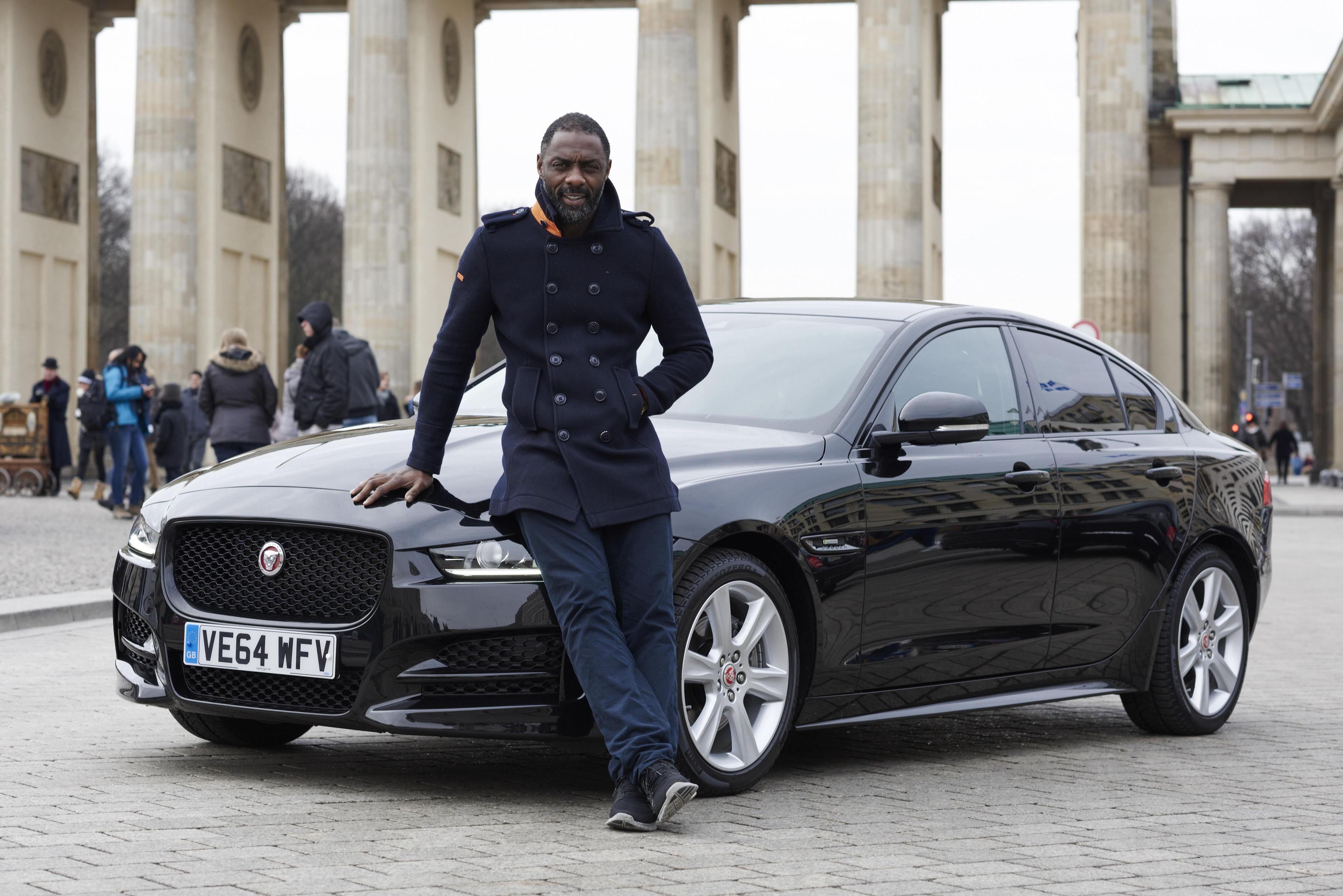 Idris Elba Drives Across Europe in the Sporty Jaguar XE to DJ a Party in Berlin