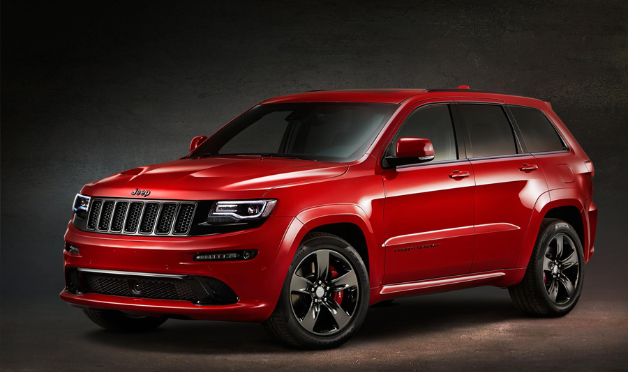 Rule All Roads in the Jeep Grand Cherokee SRT Red Vapor Limited Edition