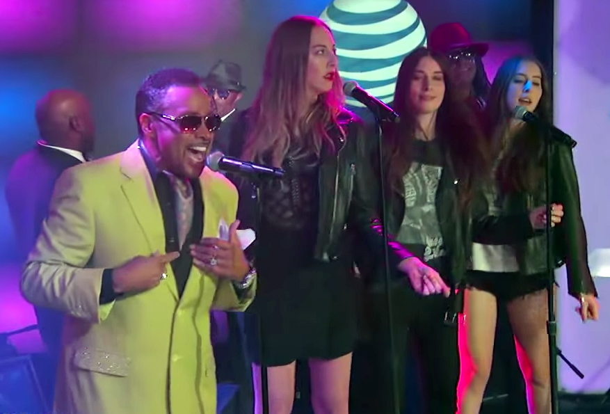 "Morris Day and The HAIM Perform ""Jungle Love"""
