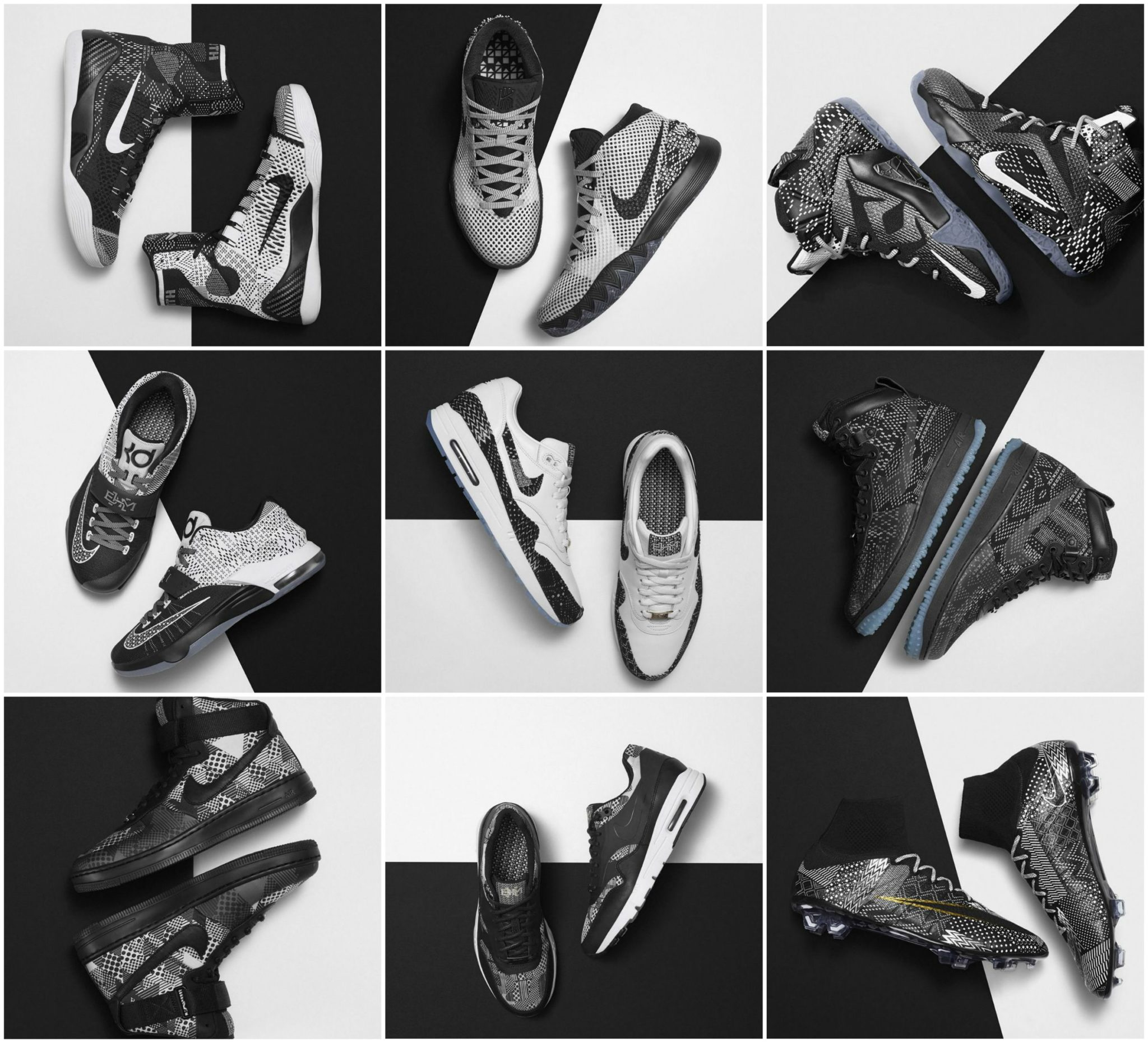 Nike 2015 Black History Month Collection Honors African-American Sports Legends