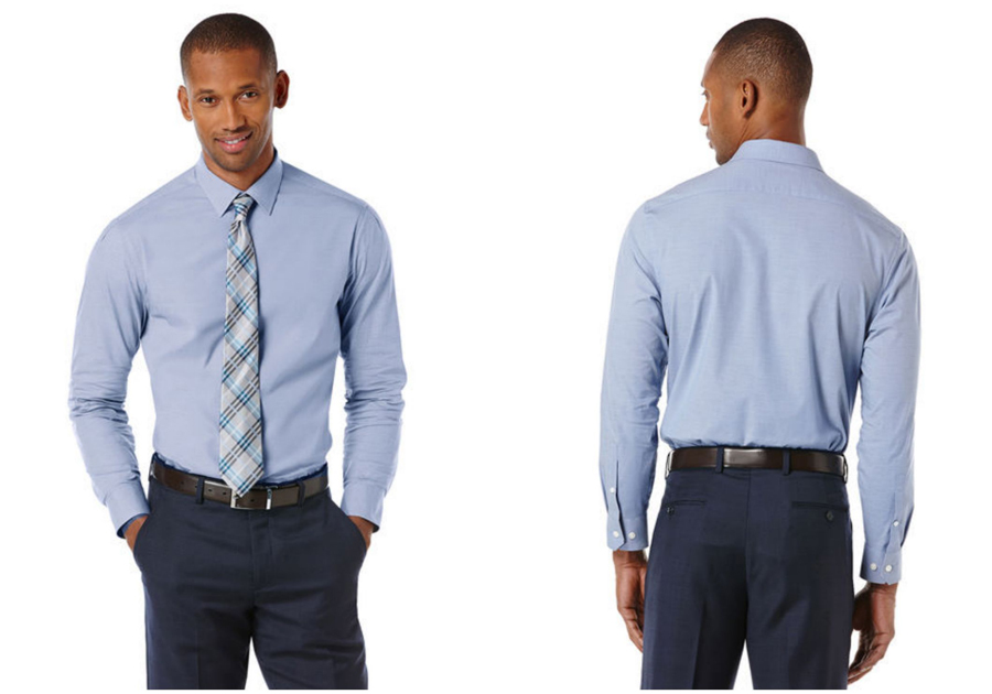 Take 40% off Men's Dress Shirts at Perry Ellis