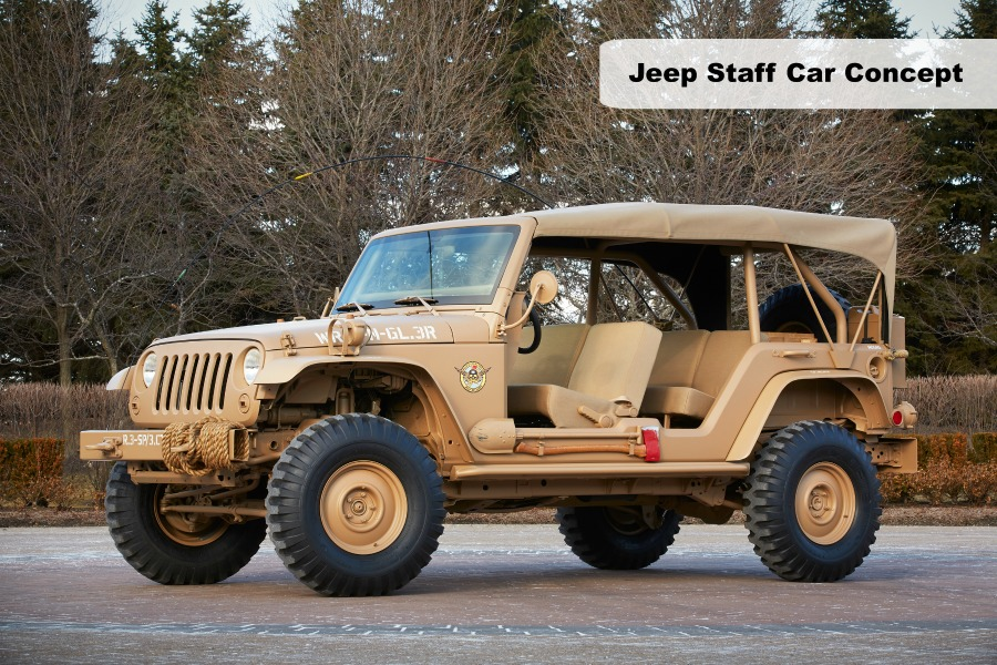 Jeep Staff Car Concept