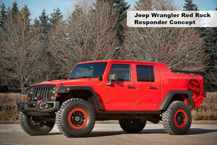 Jeep Wrangler Red Rock Responder Concept