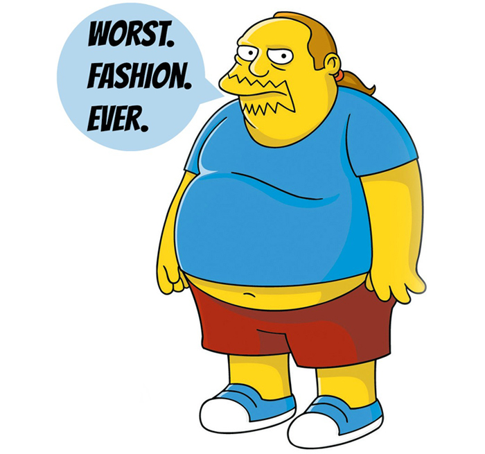 comic book guy simpsons