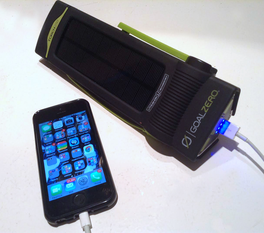 goal zero flashlight