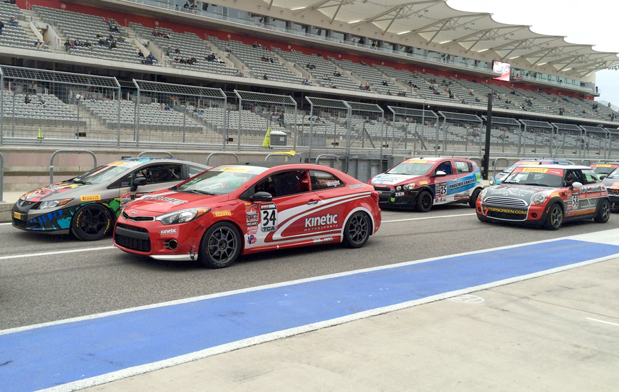 Kia Racing Opens Pirelli World Challenge Season With Impressive Showings By Optima And Forte