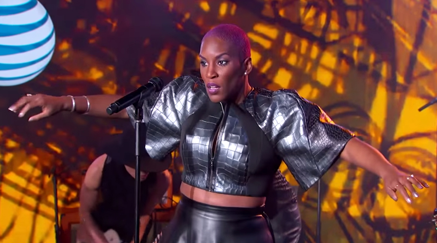"Liv Warfield Performs a Funked Up Version of ""Catch Me if You Can"""
