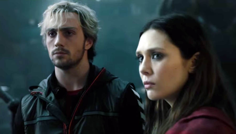 say hello to quicksilver amp scarlet witch from marvel�s