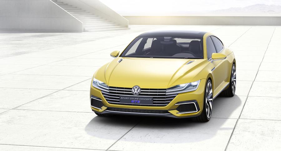 volkswagen sport coupe concept gte 5