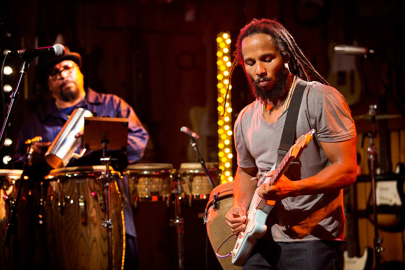 """Ziggy Marley Encourages Audience to Start a """"Personal Revolution"""""""