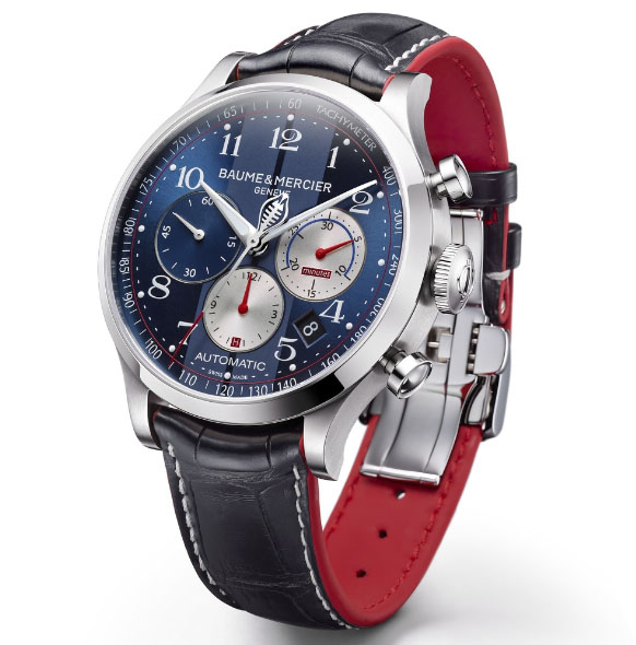 Baume & Mercier Gives You the Power of a Shelby on Your Wrist
