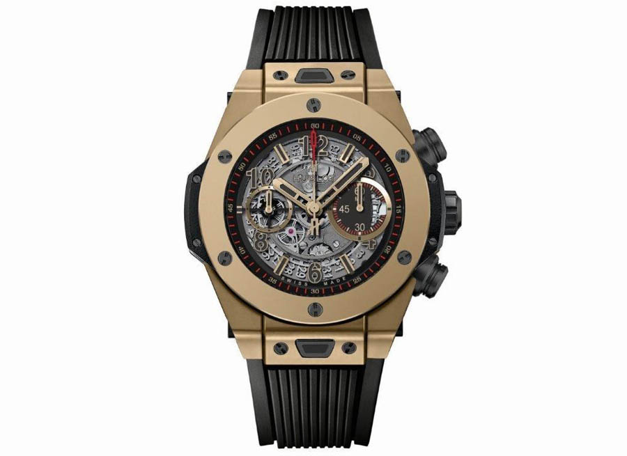 Hublot Unveils the World's Only Scratch-Resistant Gold Watch