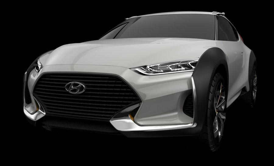 The Hyundai Enduro Concept CUV is the Perfect Vehicle for Urban Lifestyles
