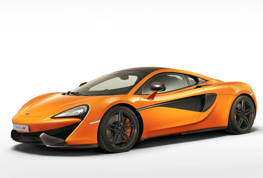 The McLaren 570S Coupé is the First Supercar from the Brand's Sports Series