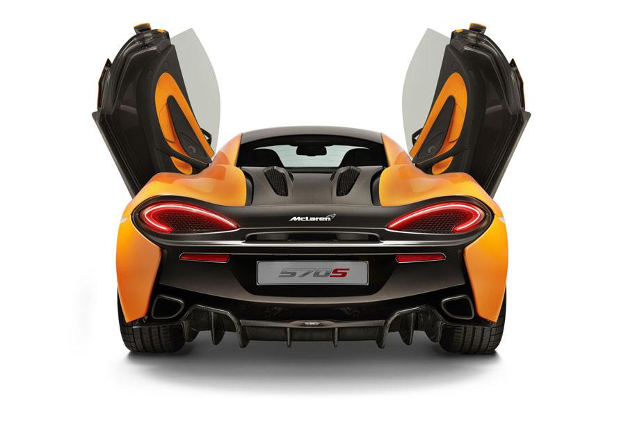 McLaren 570S Coupe doors