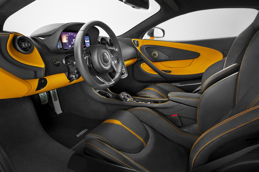 McLaren 570S Coupe interior
