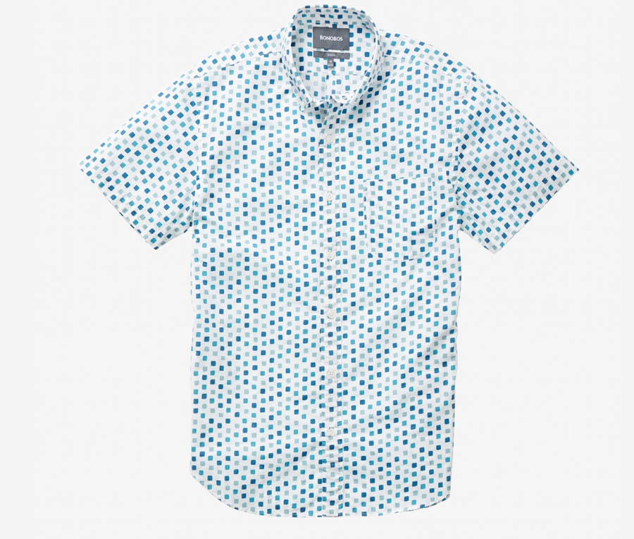 New Customers Can Save 20% off The Riviera Short Sleeved Shirt from Bonobos