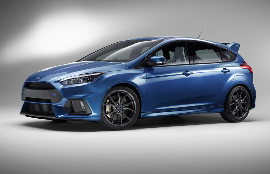 The All New Ford Focus RS Brings Legendary Performance to the U.S.
