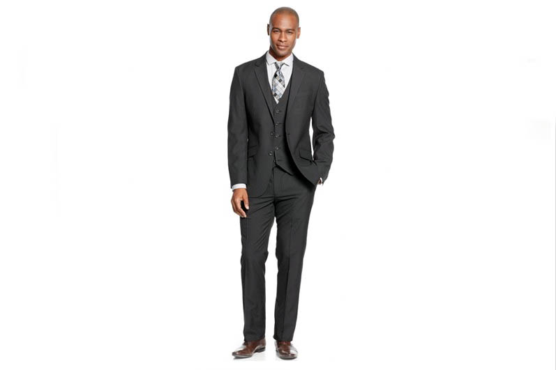 Get Select Men's Kenneth Cole Suits For Less Than $100 at Macy's