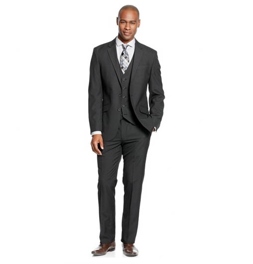 macy's men's suits kenneth cole