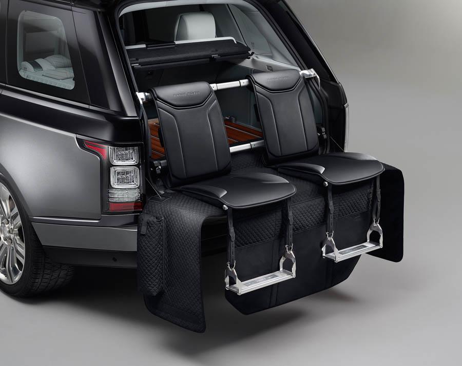 range rover tailgait seats