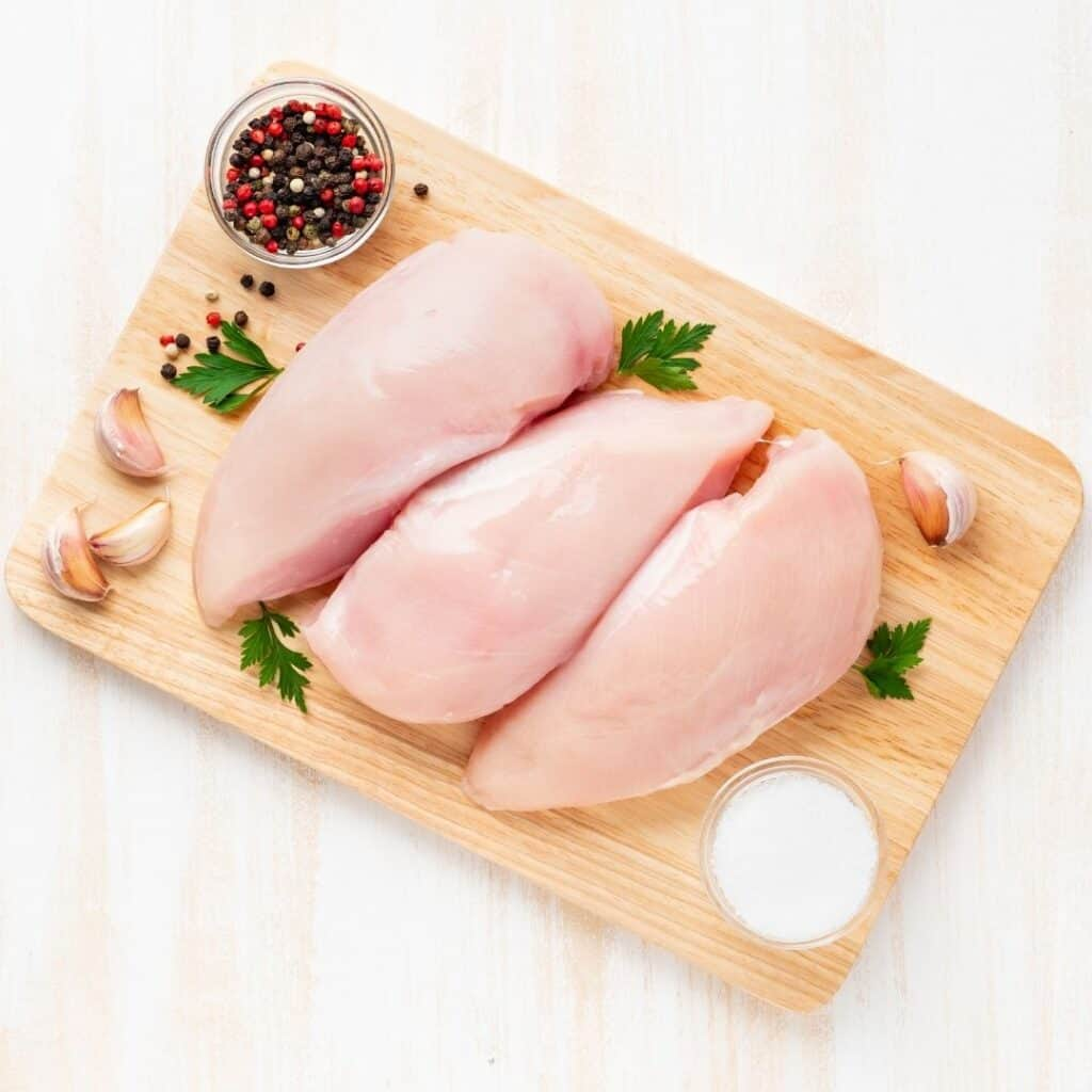chicken breast help get six-pack abs