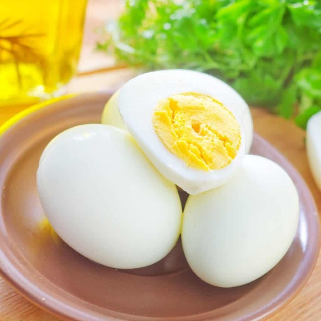 eggs help you get six-pack abs