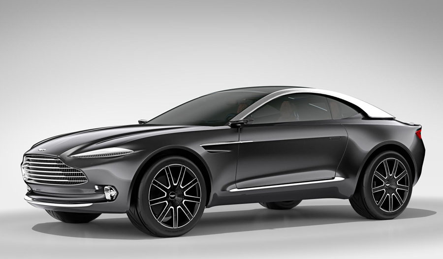 Aston Martin Makes a Radical Design Turn with the DBX Concept Car