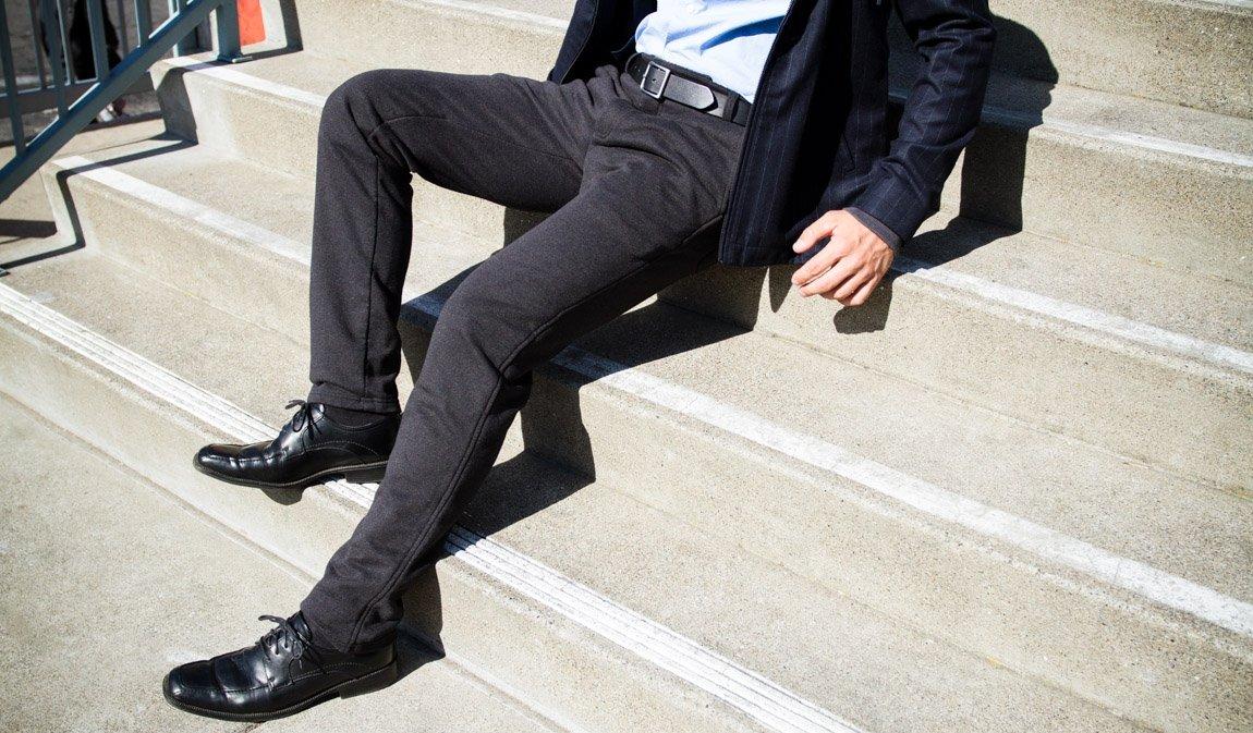 dress sweat pants