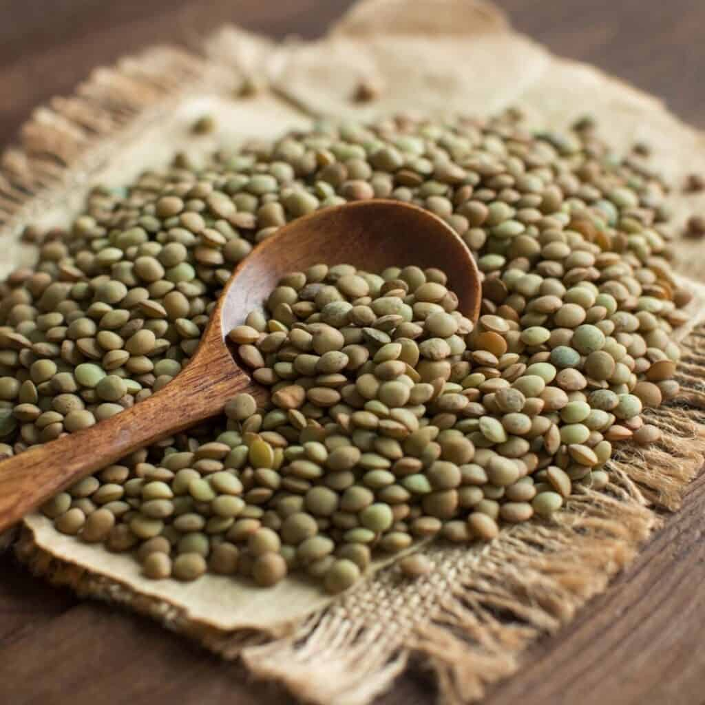 lentils help you to get six-pack abs