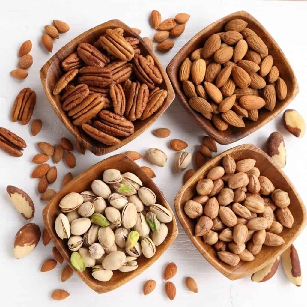 nuts help to get six-pack abs