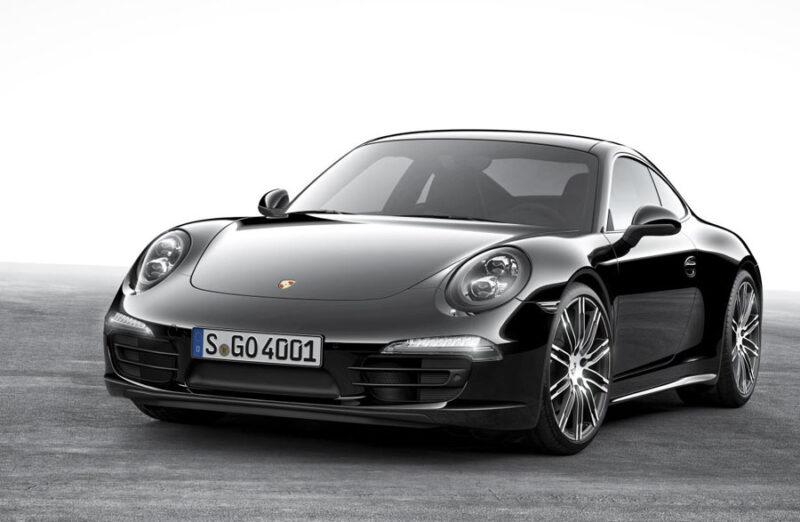 porsche carrera 911 black edition