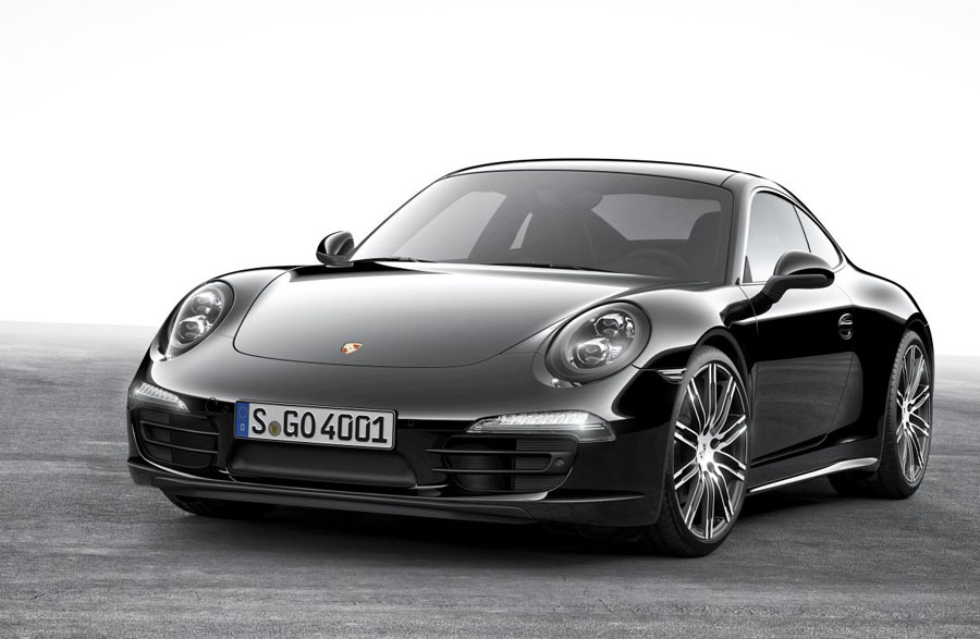 The Porsche 911 Carrera Black Edition Exudes Attitude and Elegance