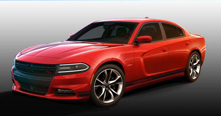 Mopar Offers Limited Edition Performance Kits for the 2015 Dodge Charger R/T