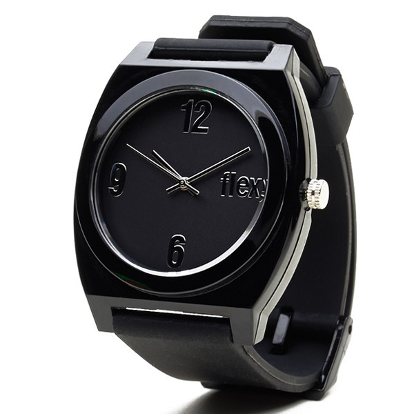 flex watches black venice