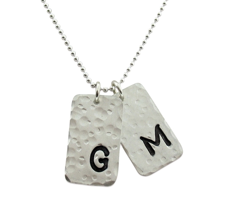 isabelle grace jewelry hammered necklace