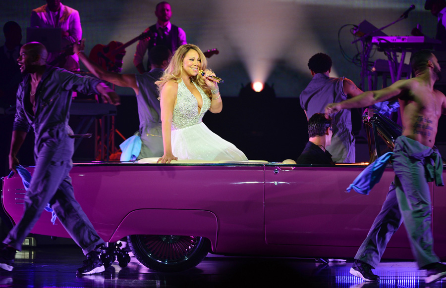 "Mariah Carey Debuts New Vegas Show ""Mariah #1 To Infinity"" at Caesars Palace"