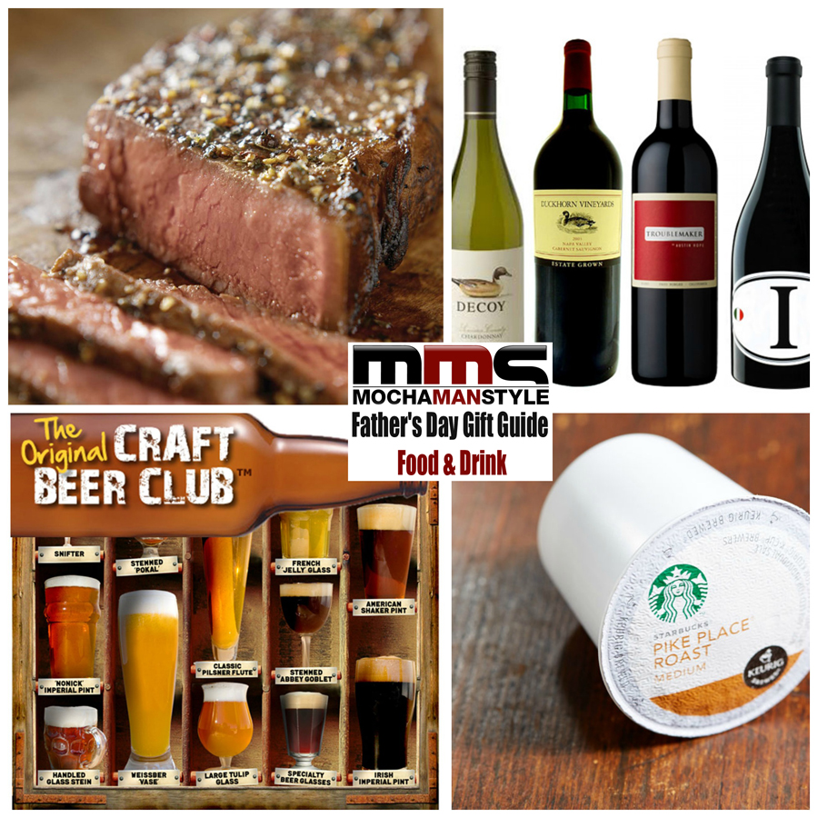 Mocha Man Style's Father's Day Gift Guide – Food and Drink