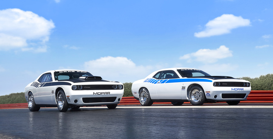 Mopar Reveals the New Dodge Challenger Drag Pak