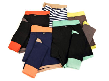 related garments underwear and socks