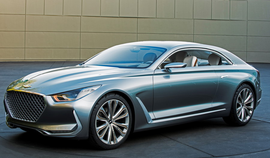 "Hyundai Motor's ""Vision G"" Concept Coupe Embodies the Future of Luxury"