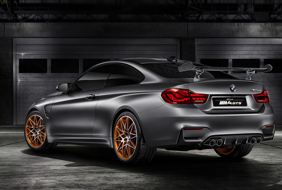 BMW Unveils Innovative Technology in the M4 GTS Concept Car
