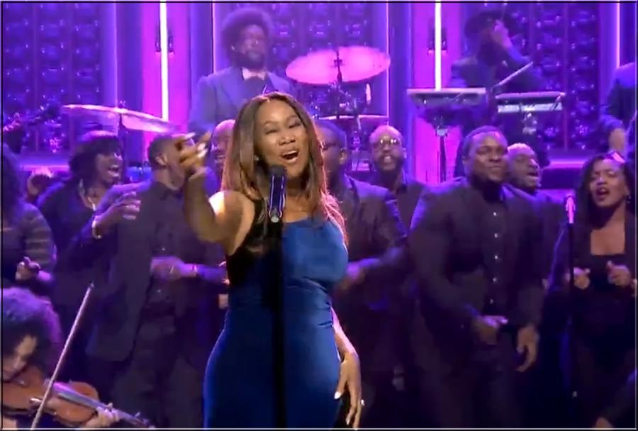 "Yolanda Adams Scores a ""Victory"" on the Tonight Show"