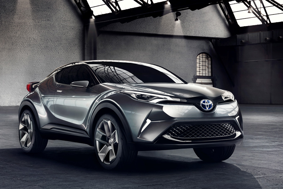 Toyota Moves One Step Closer to Producing a Mass-Market Version of the C-HR Concept