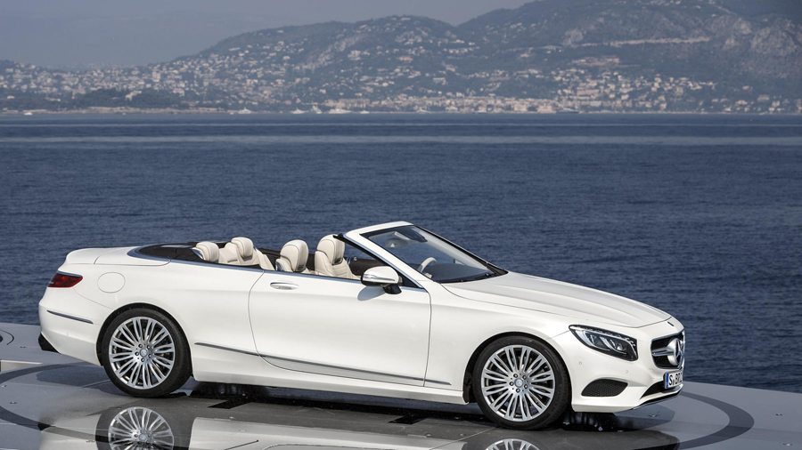 The 2016 Mercedes Benz S Cl Cabriolet Is An Instant Clic