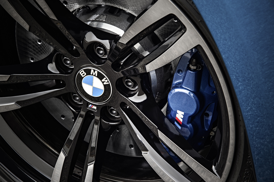 2016 BMW M2 brakes